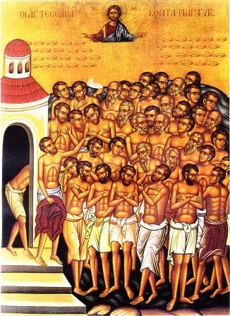 Sărbătoarea celor 40 de mucenici