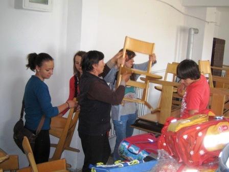 Donație din Austria pentru liceul din Săbăoani