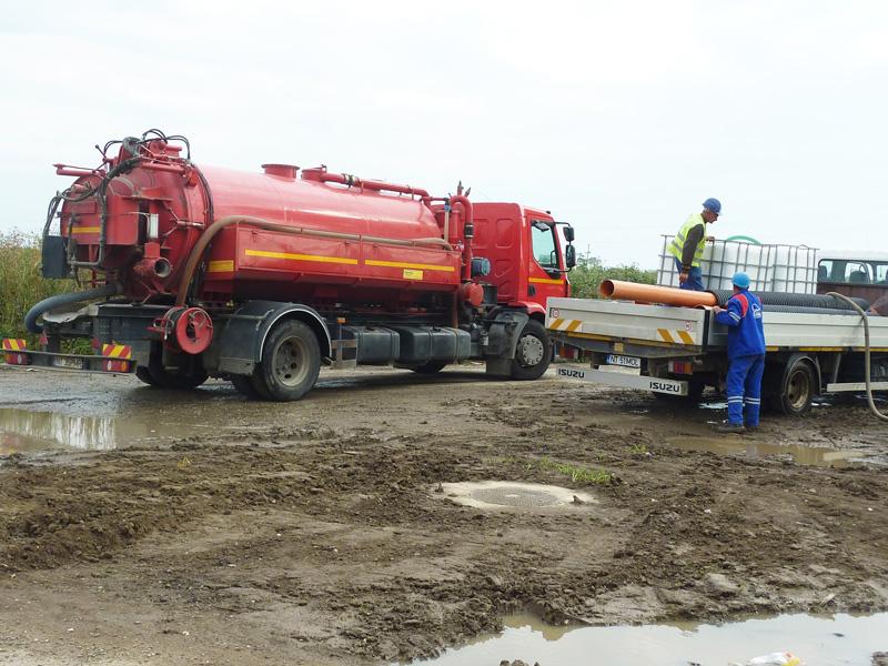 Staţia de pompare a trecut de teste, responsabilii cu apa – nu
