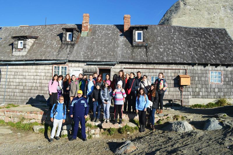 Excursie în Munţii Bucegi pentru copiii din Moldoveni