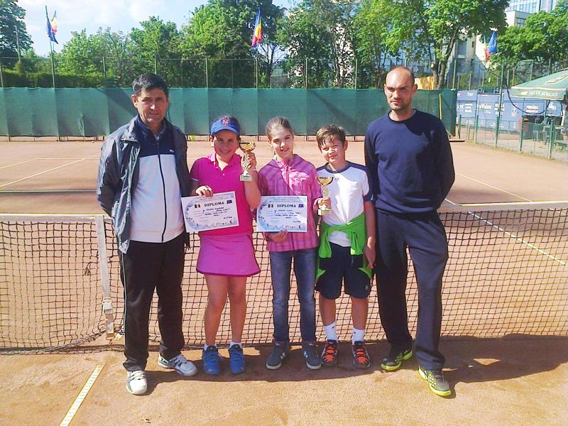 Bază sportivă de tenis construită de omul de afaceri Sorin Chiriac