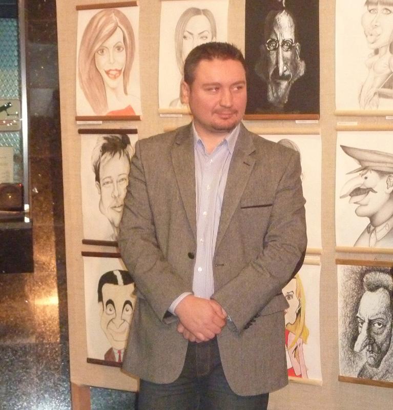 """Expoziția-concurs de caricatură """"Sub lupă"""", la ediția a III-a"""