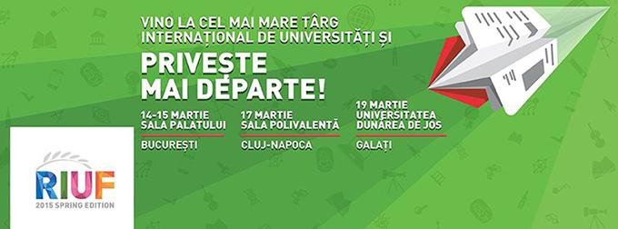 Tinerii pot participa la Târgul Internațional de Universități