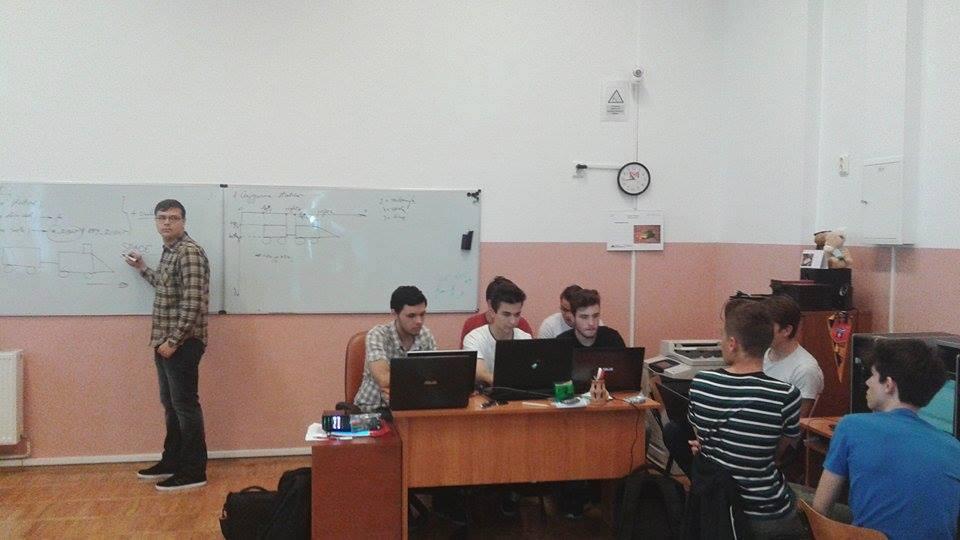 """Curs de inițiere în programarea grafică, la """"Roman-Vodă"""""""