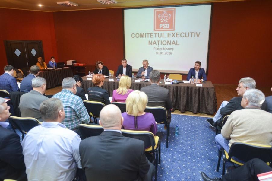 Conducerea PSD s-a reunit la Neamț
