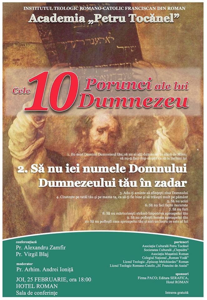 "Eveniment cultural organizat de Academia ""Petru Tocănel"""