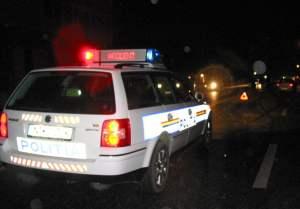 accident masina politie