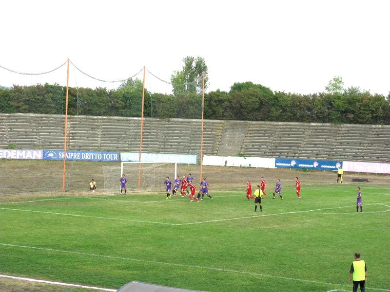 Fotbaliștii CSM Roman, învinși de Aerostar Bacău