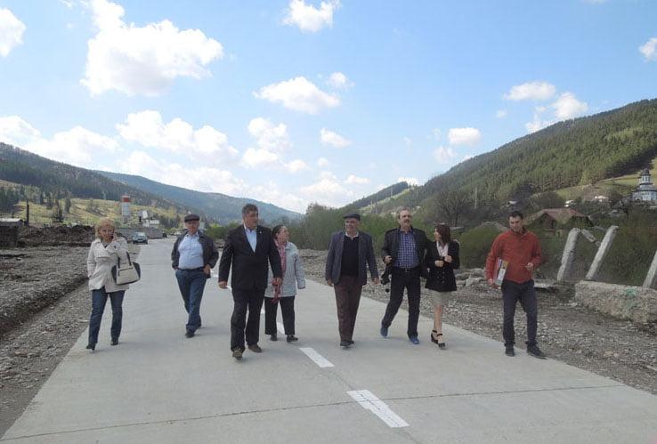 A fost inaugurat drumul spre staţia de transfer a deşeurilor de la Taşca