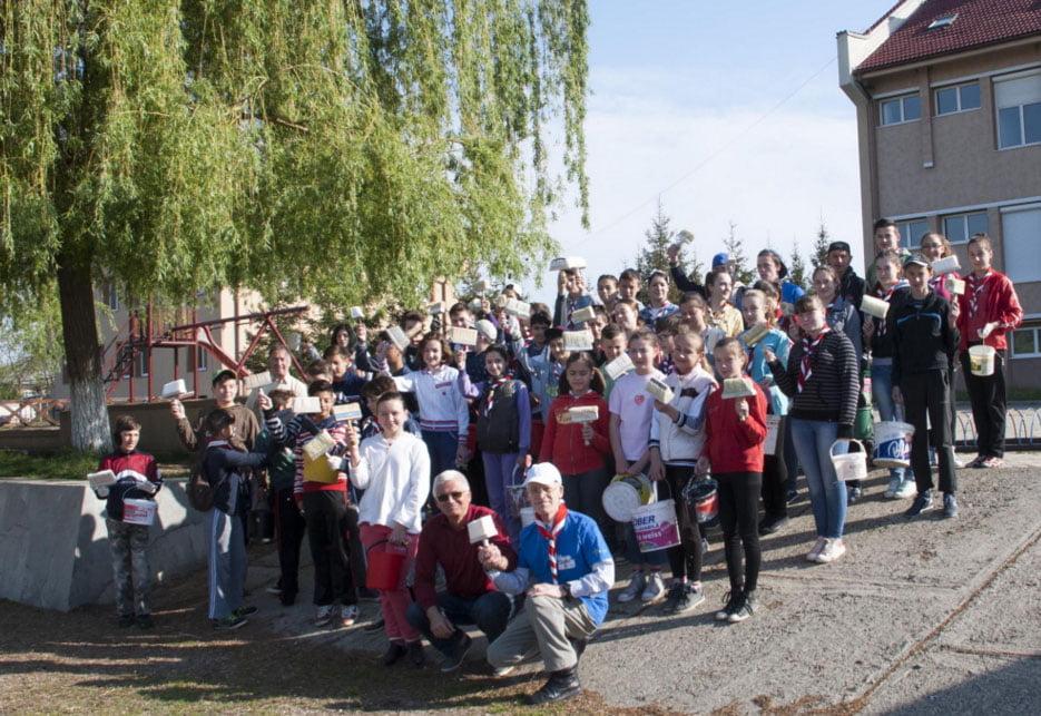 Cercetaşii din Pildeşti au sărbătorit Ziua Naturii