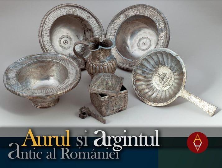 Aurul şi argintul antic al României, aduse în Neamţ