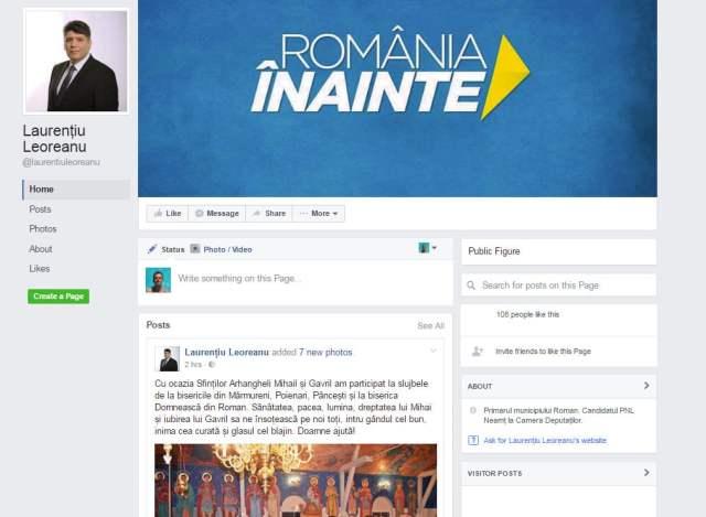 laurentiu-leoreanu-pagina-facebook