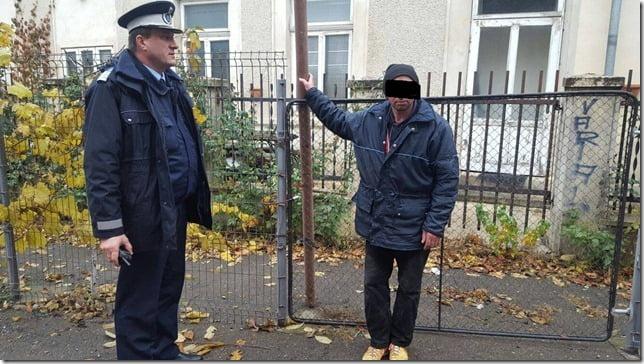 Un jandarm a oprit o tentativă de furt lângă Biroul Electoral Judeţean