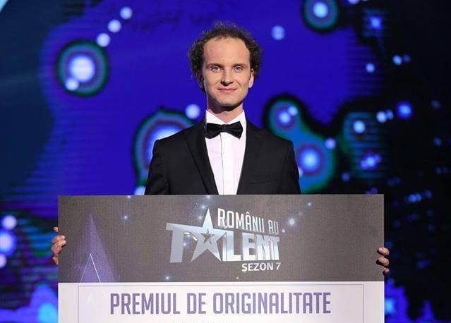 """[VIDEO] Eduard Antal, din Nisiporești, a câștigat premiul de originalitate de la """"Românii au talent"""""""