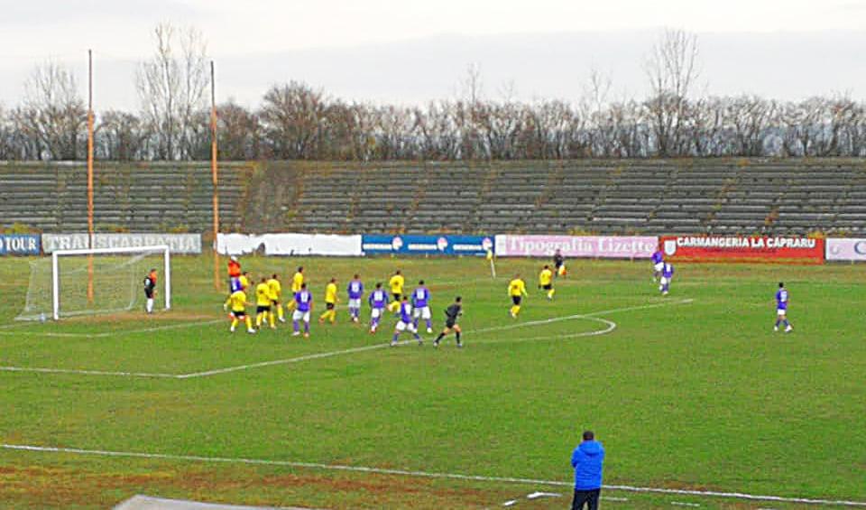 CSM Roman învinge Sănătatea Darabani. Serie de șapte meciuri fără înfrângere pentru fotbaliștii romașcani