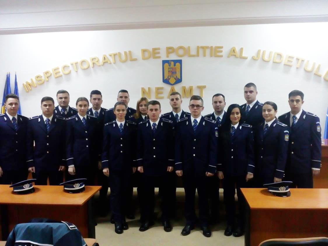 Noi polițiști la IPJ Neamț