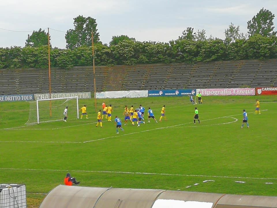 O nouă înfrângere pe teren propriu pentru fotbaliștii CSM Roman