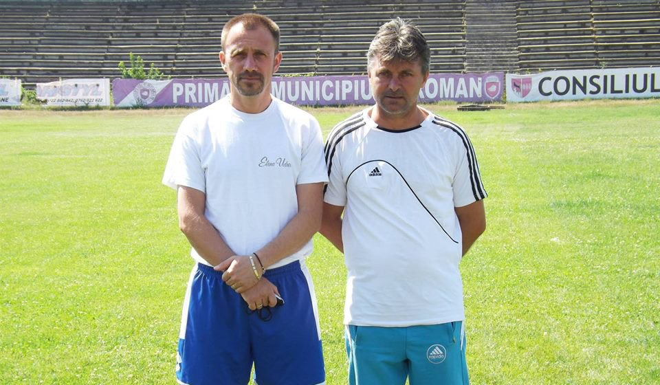 Pregătiri pentru noul campionat la echipa de fotbal CSM Roman