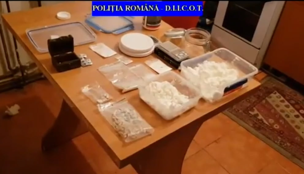 [VIDEO] Bărbați din Neamț arestați pentru trafic de droguri
