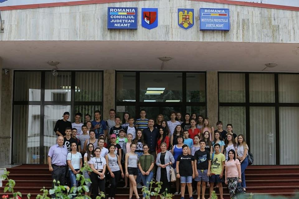 Copiii din Republica Moldova, în tabără la Neamț