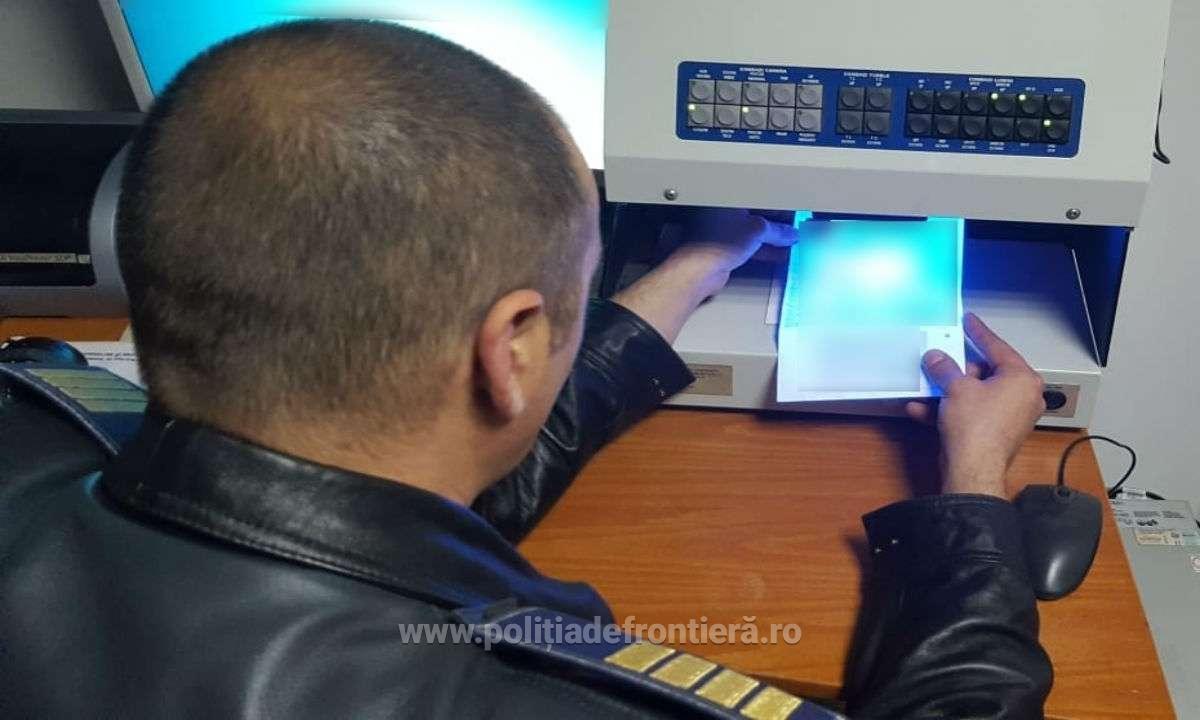 Nemțean prins la graniță cu un document fals