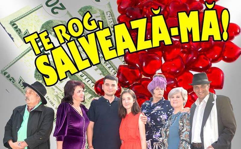 """Premiera piesei """"Te rog, salvează-mă!"""", debut de sezon pentru Teatrul """"Dan Alecsandrescu"""" din Roman"""