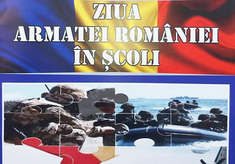 Ziua Armatei României în şcoli
