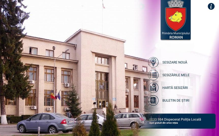 """Aproape 900 de romașcani au descărcat aplicația de sesizări """"pentru Roman"""""""