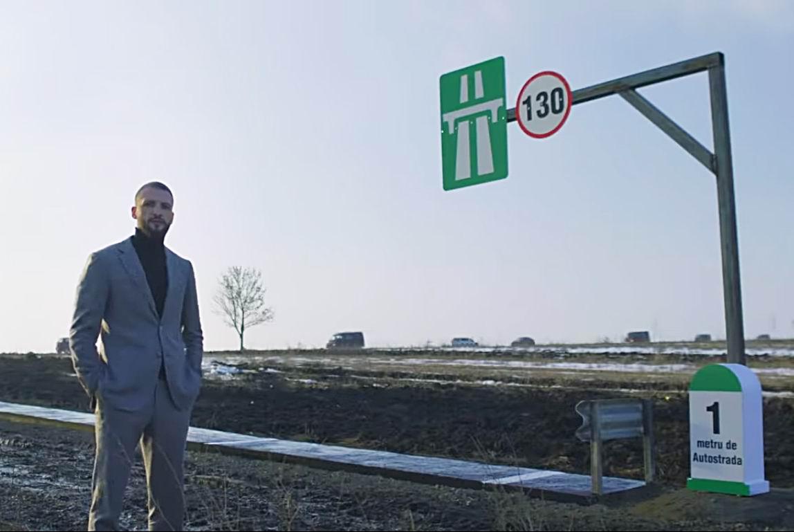 [VIDEO] Oamenii de afaceri, provocați la un protest inedit împotriva lipsei autostrăzilor din Moldova