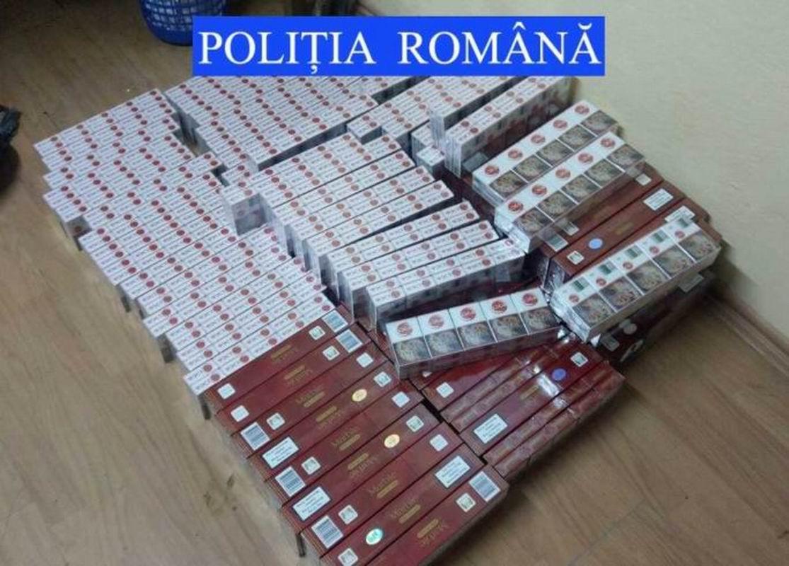19.000 de țigări de contrabandă confiscate de polițiști la Bîra