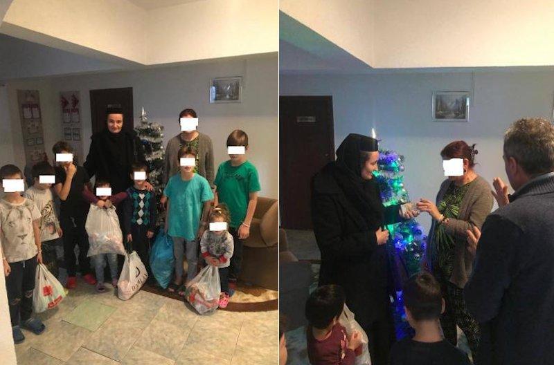 """Zi de bucurie pentru nouă copii aflați în dificultate, din partea Fundației """"Episcop Melchisedec"""""""