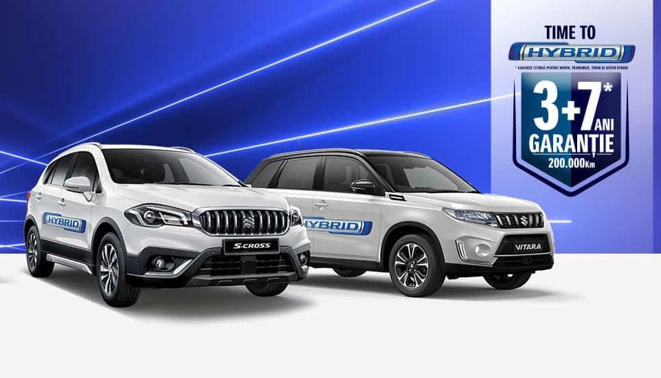 (P) Suzuki își extinde gama de modele hibrid și devine primul producător care comercializează doar modele hibrid 12V și 48V. Time to Hybrid!