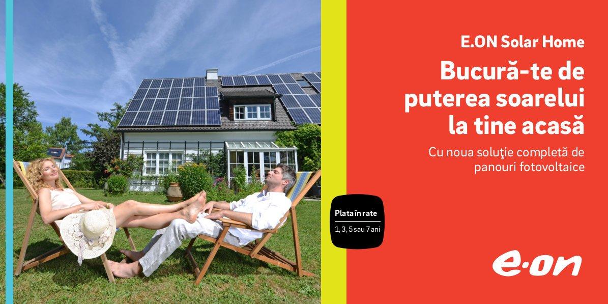 E.ON lansează o soluție de producere a energiei verzi pentru clienții care doresc să devină prosumatori