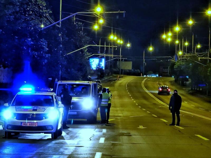 Nouă persoane sancționate noaptea trecută, pentru nerespectarea interdicțiilor de deplasare