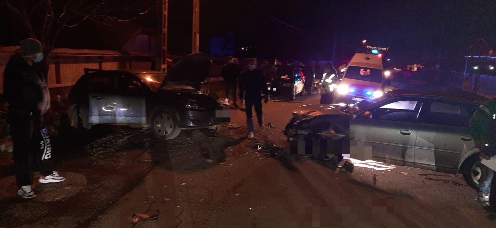 Accident rutier cu trei victime, în Barticești