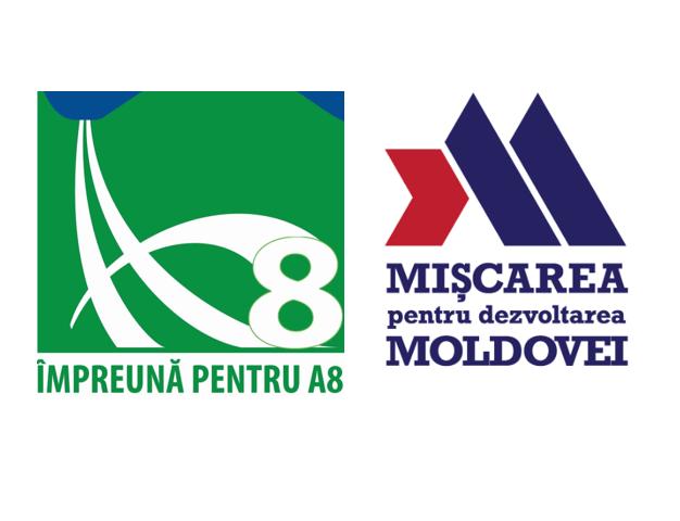Marș motorizat pentru autostrăzile Moldovei