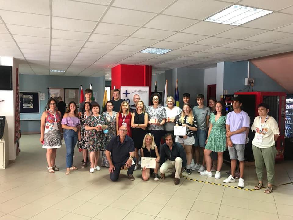 """Vizită în Italia a elevilor și profesorilor Colegiului Tehnic """"Petru Poni"""", în cadrul proiectului """"Hooked on Mathematics"""""""