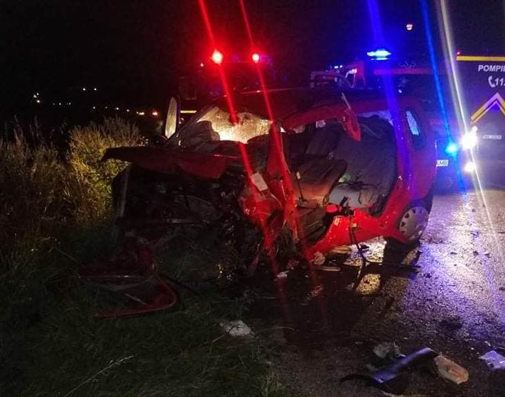 Accident rutier la Tupilați. O persoană a decedat, alte patru au fost rănite