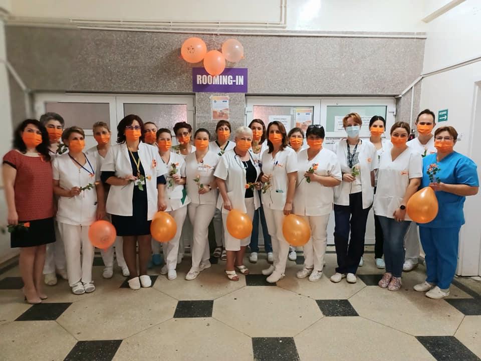 Ziua Mondială a Siguranței Pacientului, dedicată mamelor și nou-născuților la Spitalul Roman