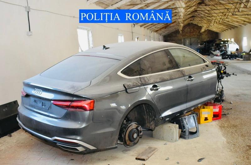 Încă un autoturism de lux furat din Spania identificat de polițiști