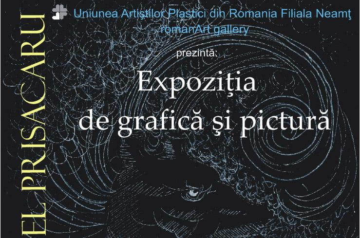 Expoziție de pictură și grafică a artistului Cristinel Ionel Prisacaru, la Roman Art Gallery