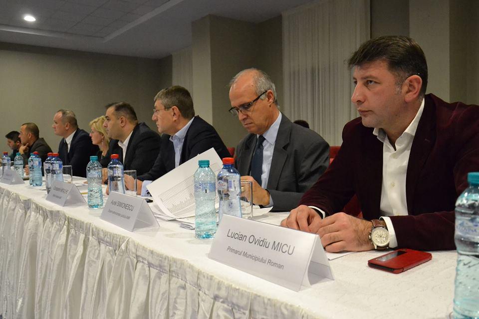 Primarul Lucian Micu, la Gala AMR, la Ateneul Român