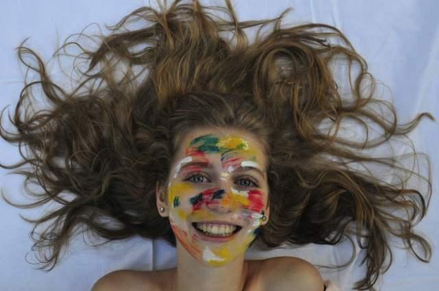 """Claudia Laura Fuchs - fotografie cu care a participat la concursul de anul trecut """"Vienna Foto Marathon"""" :: """"Bucuria culorilor"""""""