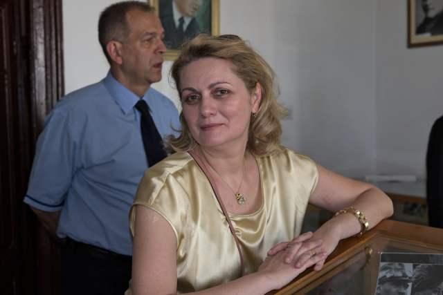 """În muzeul Colegiului Național """"Roman-Vodă"""", în 2015"""