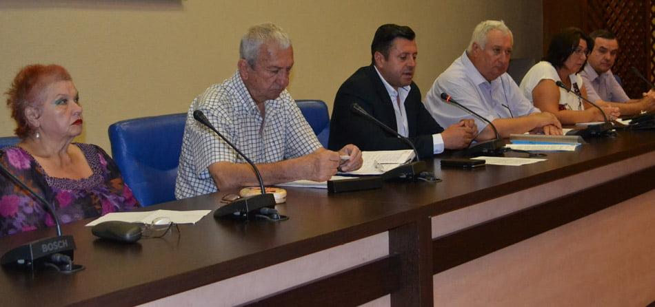 Ședință la Prefectură privind campania de vaccinare împotriva rujeolei