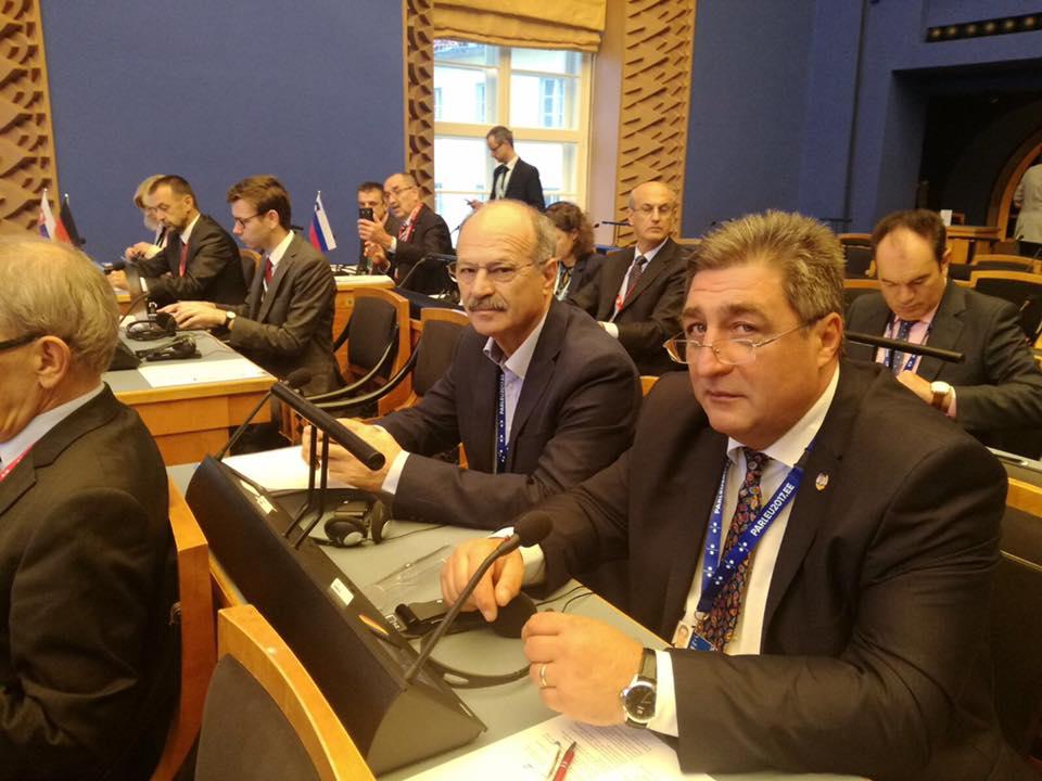 Senatorul Dan Manoliu, la reuniunea preşedinţilor comisiilor economice privind conexiunile europene de transport