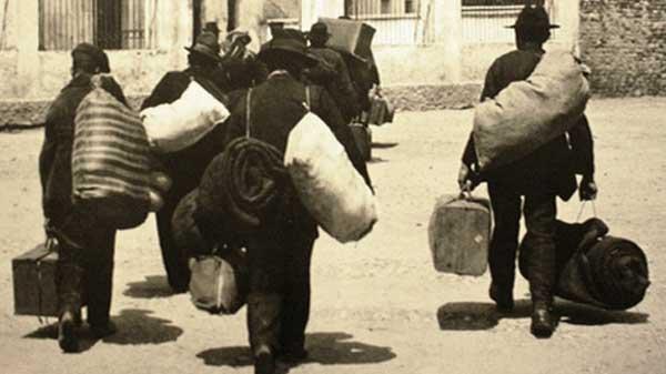 italieni migratie expozitie foto