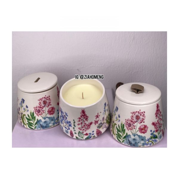 Scented Candles Tea Cup Design