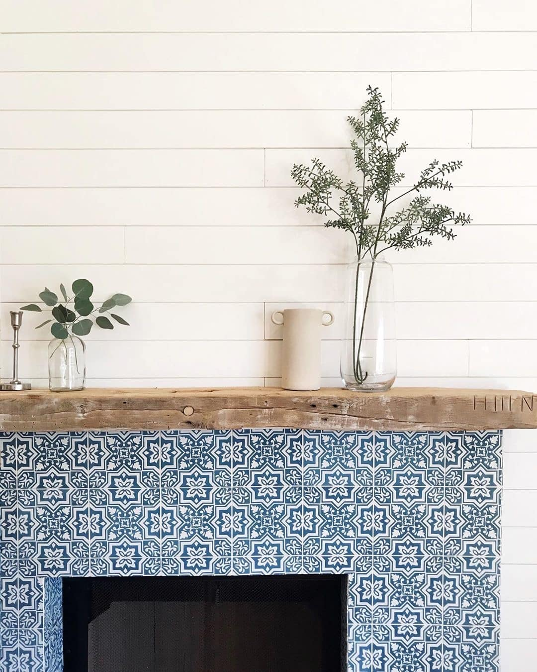 how to select cement tile for fireplace