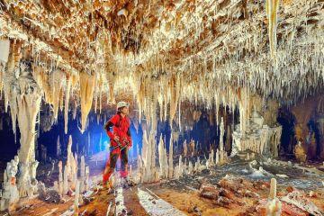 Le spettacolari  grotte di Terra Ronca in Brasile
